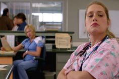Zoey on Nurse Jackie
