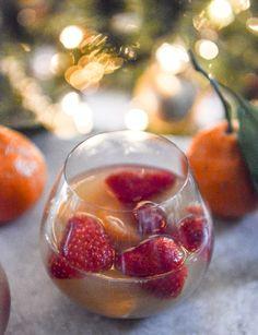 strawberry satsuma champagne sangria
