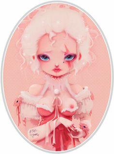 Ludovic Jacqz - No pink anymore, kawaii sweet lolita girl
