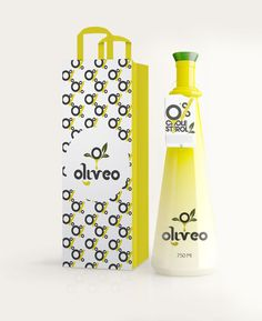 Oliveo (olive oil-- via The Dieline)