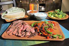 Steak Fajitas #KitchenBoss