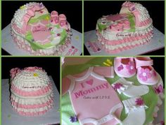bassinet cake, babi bassinet, baby shower cakes, shower idea, shower bassinet, cake designs, babi shower, cake toppers, baby showers