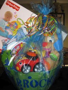Baby Easter Basket easter idea, craft inspir, kid basket, easter bucket, craft idea, babi easter, baskets, easter bunni, easter basket