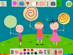 Squiggles! by By Lazoo  Your kids will enjoy playing it