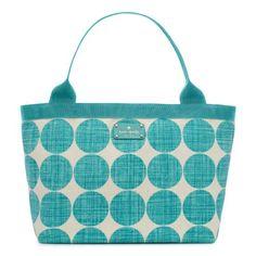 D*amn you Kate Spade. Daiper Bag. Waaaay over my budget, but so cute.
