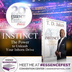 Join bishop Jakes at #essencefest