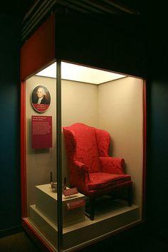 george washington's chair.