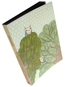 Treetops Journal by Susie Ghahremani / boygirlparty®, from http://shop.boygirlparty.com #journal #diary