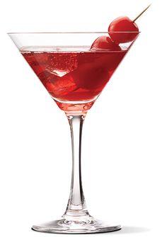 Cherry Cheesecake Martini (1 part UV Vanilla  2 parts cranberry juice  1 dash of grenadine)