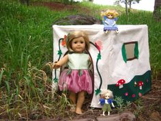 SO MANY free doll patterns and tutorials! I love this site!