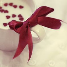 heart, cups, valentine day, wedding ideas, milk, ribbon, bows, cup of coffee, red wedding