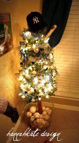 Little boy Christmas tree!  Perfect for Evan Robert!