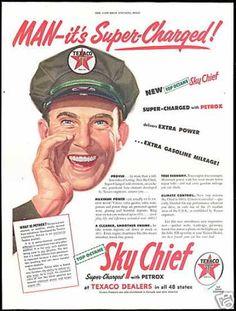 Texaco Sky Chief ad (1954)