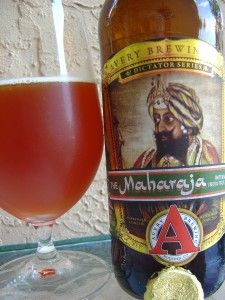 I love this beer!  Avery The Maharaja Imperial India Pale