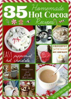 35 Homemade Hot Cocoa Recipes - Sassy Style