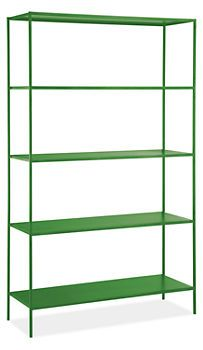Slim Shelves in Colors - Room & Board
