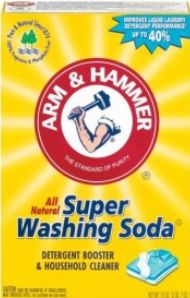 BEST cloth diaper detergent. Borax and soap will breakdown the waterproofing of the diapers!