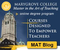 Marygrove College MAT Blog  info.marygrove.ed...