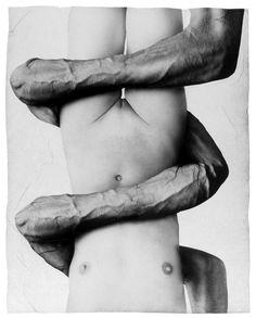 untitled - Gellage No. 54  collage by Michal Macku, 1992