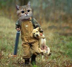 'I caught me a Dog'!!