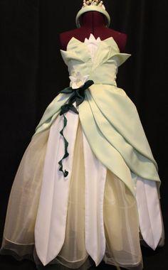 Princess Tiana costume dress . I like the colors and the fabric
