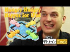 Hungry Hippos for the iPad by Think Geek. Possibly a real hit.