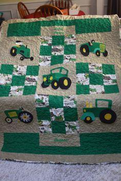 My John Deere quilt!
