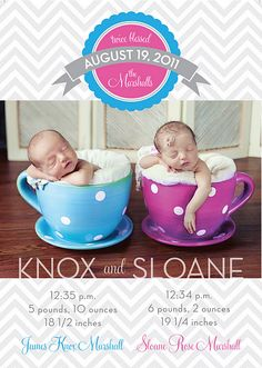super cute- I wish I had thought of this when my twins were little!