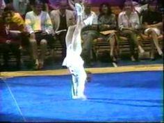 1988 Paul Hunt gymnastics comedy floor exercise - YouTube
