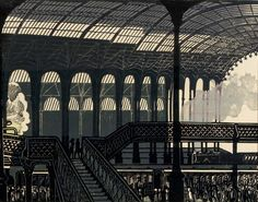 Edward Bawden on Liverpool St Station