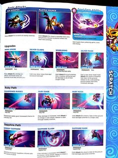 scratch skylanders swap force book more skylanders swap force force