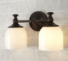 Mercer Double Sconce | Pottery Barn