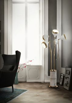 HANNA | Lámpara de pie Lámparas de pie estilo moderno @delightfulll