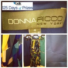 Enter now for your chance to win a $500 Donna Ricco dress wardrobe! #belk125