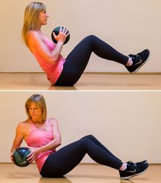 4 MOVES TO WHITTLE YOUR WAIST