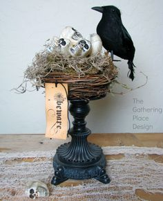 DIY Spooky Crows Nest