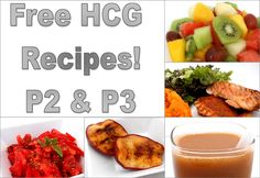 HCG recipes galore! Losing weight is easy with these healthy recipes for phase 2 and phase 3 of the HCG Diet.
