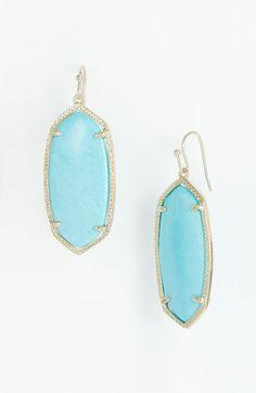 Kendra Scott 'Elle' Small Oval Earrings | Nordstrom