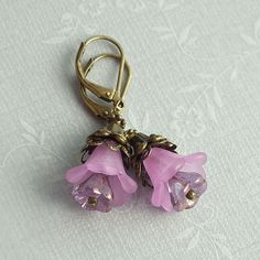 Made these today.  Like the combo of lilac and antique brass.