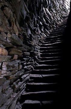 Mousa Broch, Mousa Island,Shetland Scotland, 100BC