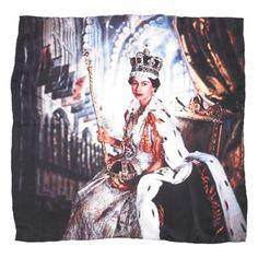 Coronation scarf  £30  Victoria and Albert Museum