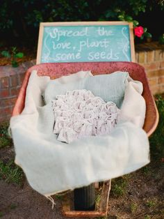 DIY Weddings: Party Favor Projects and Ideas. For a rustic wedding, send your guests home with a plant seed packet >> http://www.diynetwork.com/decorating/diy-weddings-party-favor-projects-and-ideas/pictures/index.html?soc=pinterest