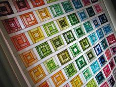 So gorgeous!  (Paintbox Quilt-Along 2010)