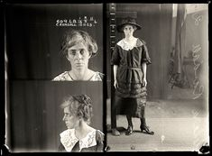Clara Randall, criminal record number 609LB, 12 November 1923. State Reformatory for Women, Long Bay, NSW.    Clara Randall worked as a travelling saleswoman for a jewellery company. She reported to police that her Bondi flat had been broken into and a quantity of jewellery stolen. It was later discovered she had pawned the jewellery for cash. A career criminal, Randall was sentenced to 18 months with light labour