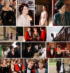 Images from new season of Downton Abbey - can't wait!