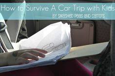 How to survive a Car Trip with Kids!  Lots of good ideas!