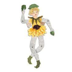 Sizzix Susan Tierney-Cockburn, Bigz XL Die, Garden Fairy, Movable