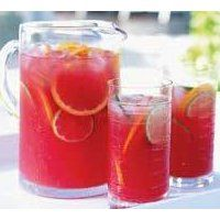 Princess Punch - Pineapple juice, frozen pink lemonade, water, ginger ale, strawberry ice cream
