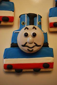 The Baking Sheet: Thomas the Train Cookies!
