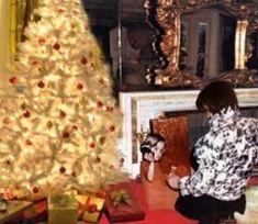 December 25, 1972: Lisa Marie spends Christmas with Elvis at Graceland.